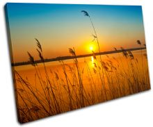 corn field Sunset Seascape - 13-0288(00B)-SG32-LO